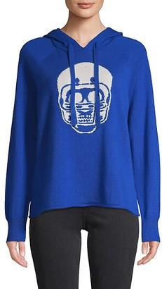 360 Sweater Skull Cashmere Hoodie