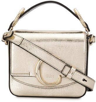 Chloé mini C crossbody bag