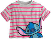 Disney Stitch & Scrump MXYZ Cropped Waist Tee for Juniors