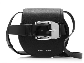Proenza Schouler Buckle Mini Leather Crossbody Bag