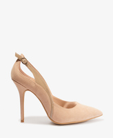 Forever 21 Patent Buckle Pointed Pumps