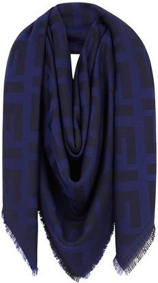 Fendi FF motif shawl