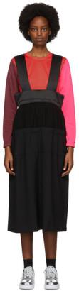 Comme des Garcons Black Suspender Midi Skirt