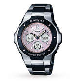Baby-G Gms Ladies Pink and Black Watch