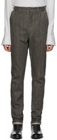 Deepti Grey Protruding Pocket Jeans