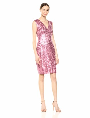 Tadashi Shoji Women's SLVLESS Sequin Dress
