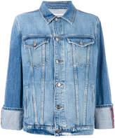 Frame boxy denim jacket