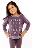 Sol Angeles Smile Pullover Top