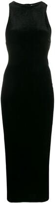 Helmut Lang Pre-Owned 1990s fitted velvet dress
