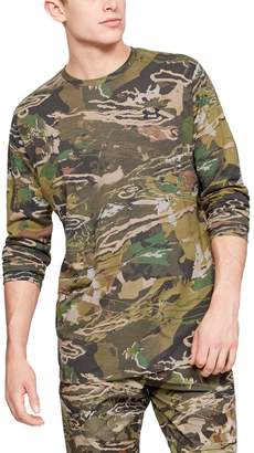 Under Armour Men's UA Scent Control Camo Long Sleeve T-Shirt