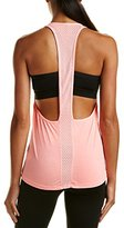 Trina Turk Recreation Women's Washy Jersey Solid Athletic Back Tank Top