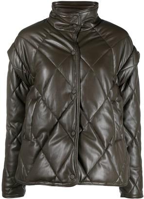 Apparis Liliane quilted zip-up jacket