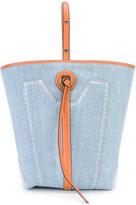 Ermanno Scervino adjustable strap tote bag
