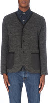 Junya Watanabe Elbow-patch Knitted Cardigan