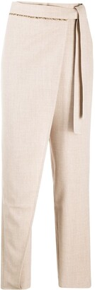 ANDERSSON BELL Emma Wrap Tapered Pants