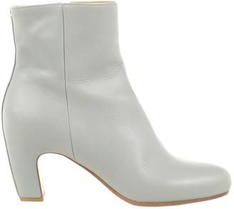 Maison Margiela \N Grey Leather Boots
