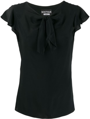 Boutique Moschino Bow-Detail Blouse