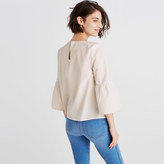 Madewell Striped Bell-Sleeve Top