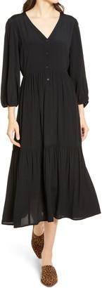 Chelsea28 Tiered Midi Dress