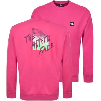 The North Face Masters Of Stone Sweatshirt Pink