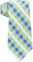Tommy Hilfiger Men's Derby Small Gingham Silk Tie