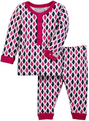 Coccoli Foulard Print Shirt & Pant Set