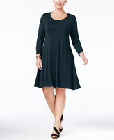Style&Co. Style & Co Plus Size Swing Dress, Only at Macy's