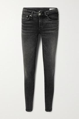 rag & bone - Cate Mid-rise Skinny Jeans - Black