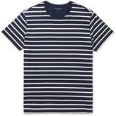 Derek Rose - Alfie Striped Stretch-micro Modal Jersey T-shirt