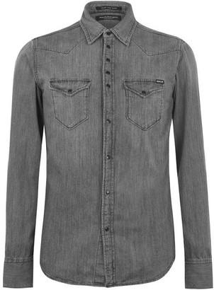 Replay Long Sleeve Denim Shirt