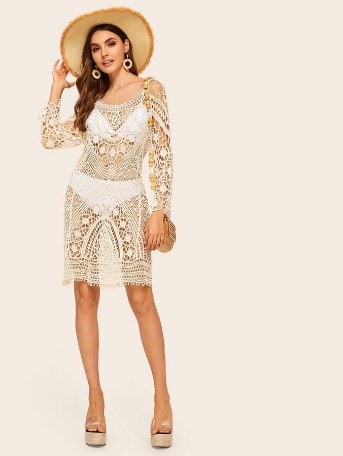 9e71cba40efd6 Crochet Cover Up - ShopStyle