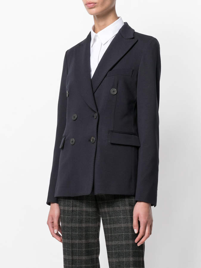 Kiltie double breasted blazer