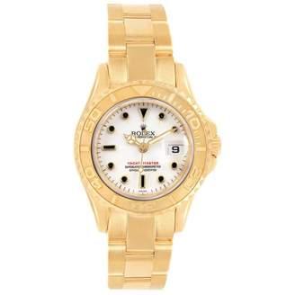 Rolex Yacht-Master White Yellow gold Watches