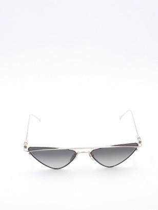 Chrome Hearts Triangle Frame Sunglasses