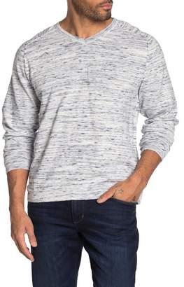 Weatherproof Vintage V-Neck Raglan Sleeve Knit Sweater