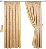 "Very Boston Lined 3"" Header Curtains"