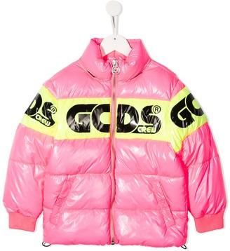 Gcds Kids Padded Logo Jacket