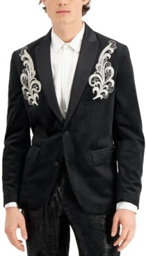 INC International Concepts Inc Men's Spencer Embroidered Blazer, Created for Macy's