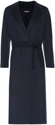 S Max Mara Esturia double-face wool coat