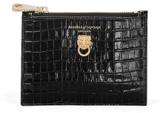 Aspinal of London Lion Small Essential Flat Pouch