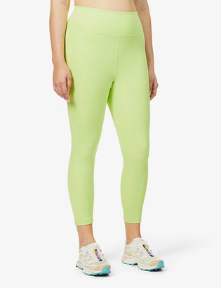 Girlfriend Collective Compressive 7/8 high-rise recycled polyester-blend leggings