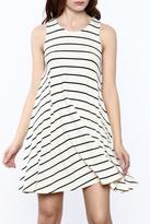 Ppla Stripe A-Line Dress