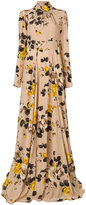 Rochas floral print dress - women - Silk - 42