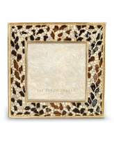 "Jay Strongwater Leopard 3"" Square Frame"