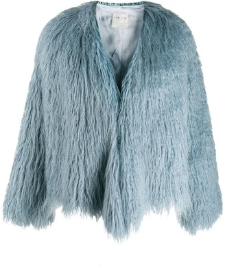 Forte Forte Straggly Faux Fur Jacket