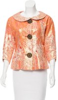 Tracy Reese Silk Brocade Jacket