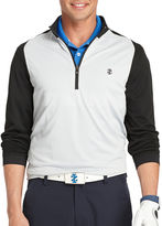 Izod Golf Textured Quarter-Zip Pullover
