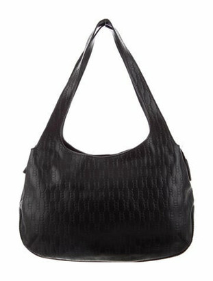 Blumarine Leather Shoulder Bag Black