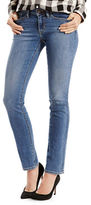 Levi'S 712 Mid Rise Textured Jeans