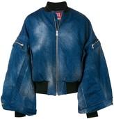 Diesel Red Tag batwing sleeve denim jacket